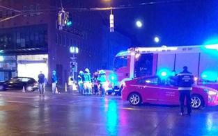 Pkw crasht in Feuerwehr-Einsatzauto
