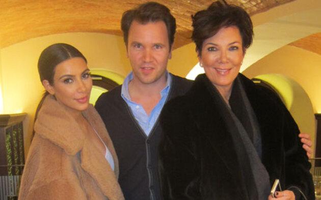 Kim Kardashian & Kris Jenner beim Figlmüller