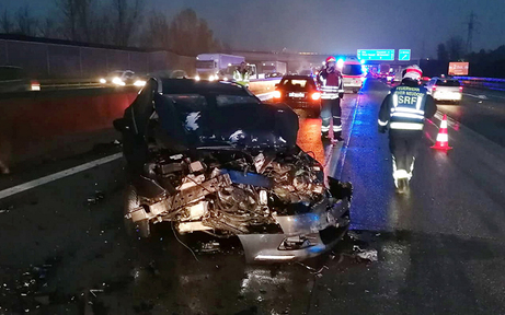 Gaffer-Skandal bei Massen-Crash auf A2