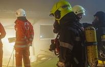 Brennender Stall: Mehr als 400 Schweine gerettet