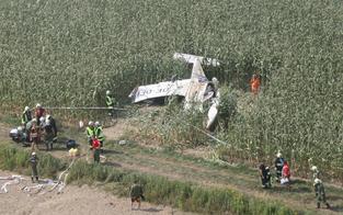 Unterhaus-Kicker überlebt Flugzeug-Crash