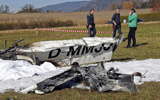 Flugzeugabsturz in Kärnten: 2 Tote