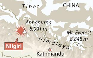 Bergsteiger nach Absturz in Nepal vermisst