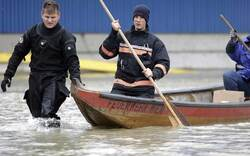 Hochwasser erreicht Wien