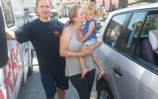 ARBÖ befreit Buben aus versperrtem Auto