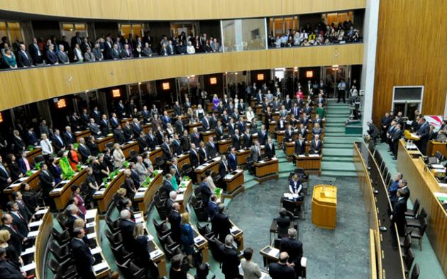 Premiere für neuen Nationalrat