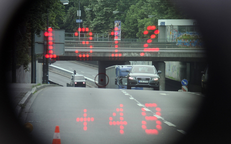 Jeder dritte Fahrer zu schnell auf der L133