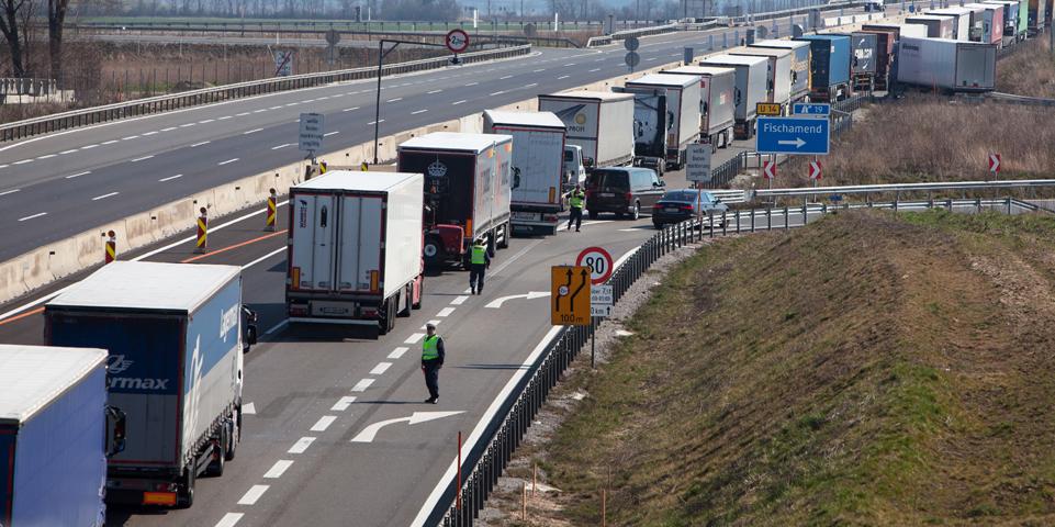 Ungarn Coronavirus Grenzkontrollen