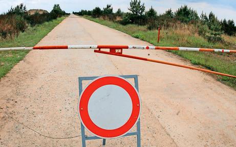Fahrverbot am Übungsplatz sorgt für Ärger