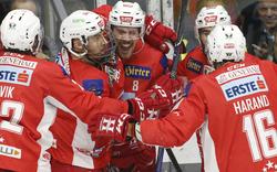 KAC gewann Derby gegen VSV - Salzburg unterlag Fehervar