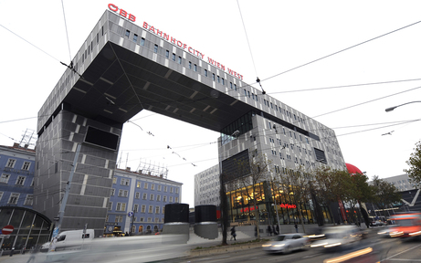 Bombenalarm am Wiener Westbahnhof