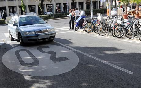 Ganz Wien soll jetzt eine 30er-Zone werden