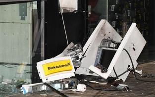 Wieder Bankomat in die Luft gesprengt