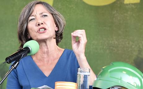 Grüne Landesversammlung: Morgen rechnet Hebein ab