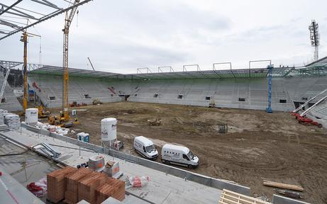 Rapid jubelt: Das Allianz Stadion ist fast fertig