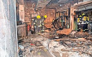 Explosion in Pizzeria: Jagd auf Feuerteufel