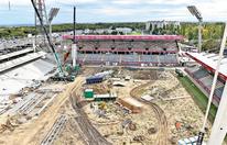 Erster Blick in die neue Austria-Arena