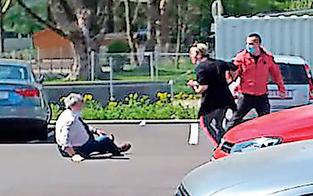 Wegen Corona-Abstand ausgerastet: Polizei jagt Prügel-Pärchen