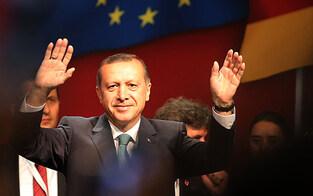 Türken-Premier Erdogan kommt nach Wien