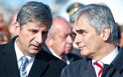 Geheim-Gespräch soll Koalition retten