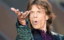 Mick Jagger: Mit zwei Frauen in Wien