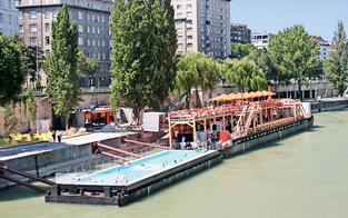 Rot-grüner Streit um Wiener Donaukanal
