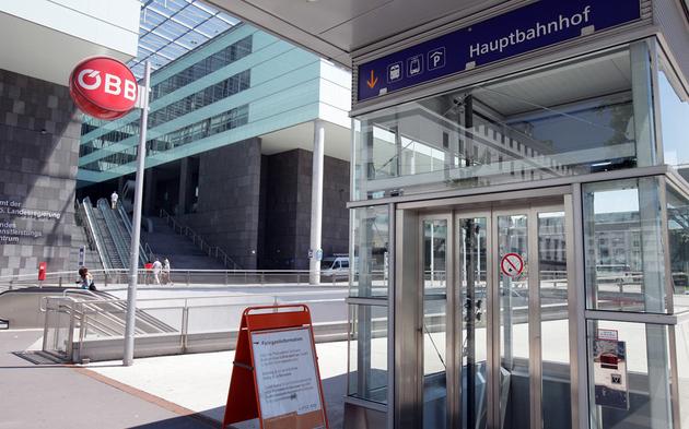 Bahnhof Linz