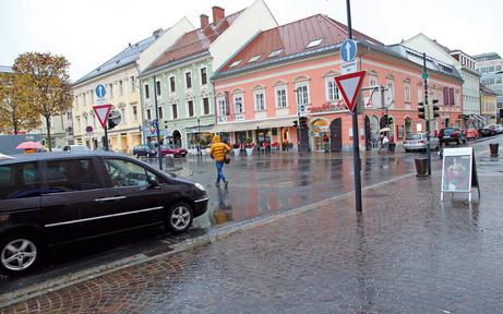 Begegnungszone in Klagenfurt: Scheider macht jetzt ernst