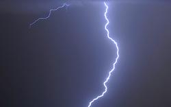 Wanderer vom Blitz getroffen