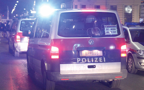 Bombenalarm in der U-Bahn-Station Prater