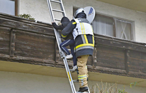 Tiroler Feuerwehr-Helden retten Kinder ins Freie