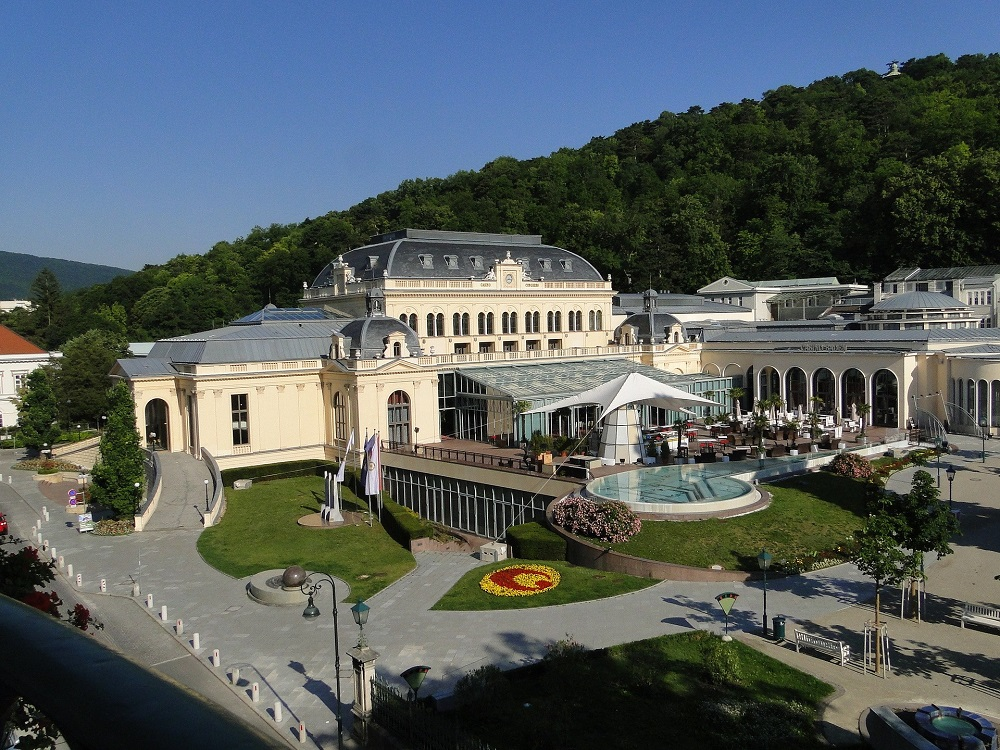 Casino Baden - ADV - Luftaufnahme