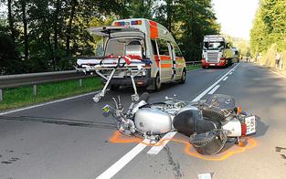 Unfallserie mit Motorrädern reißt nicht ab