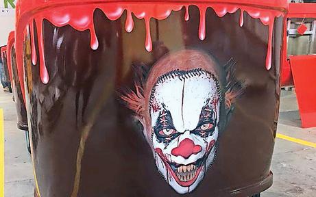 """""""Creepy Clowns"""" ziehen in den Prater"""