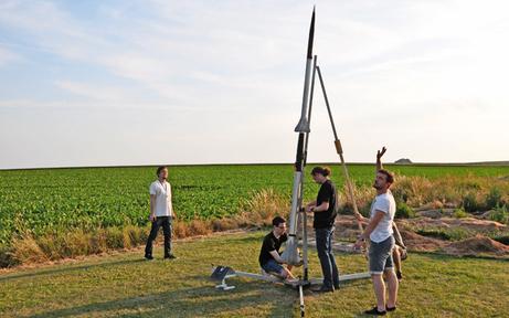 """Raketen-Test: TU """"Space Team"""" will den Weltrekord"""