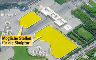 Neues Denkmal für Bundesheer um 1 Mio. Euro