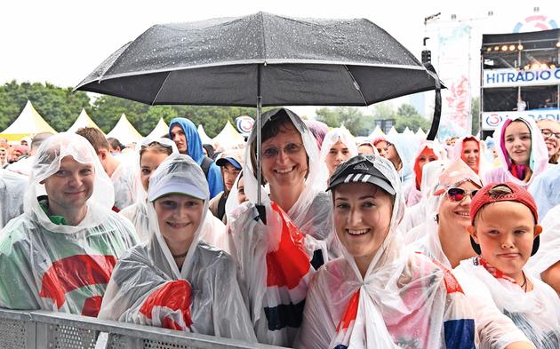 Donauinselfest 2017 Regen
