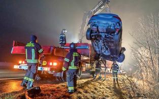 Enkel (14) schrottet Opas Audi auf A2