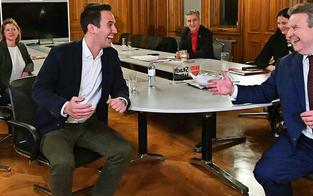 Erste Wien-Umfrage: Rot-Pink legt stark zu