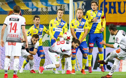 0:0 - St. Pölten mit Unentschieden gegen WAC