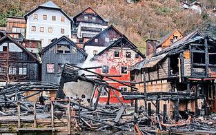 Feuer in Hallstatt war wohl Unfall