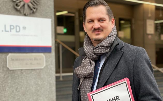 Favoriten-Randale: Bezirk legt sich mit Polizei-Spitze an | Marcus Franz
