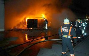 Feuerwehreinsatz: Großbrand am Bahnhof