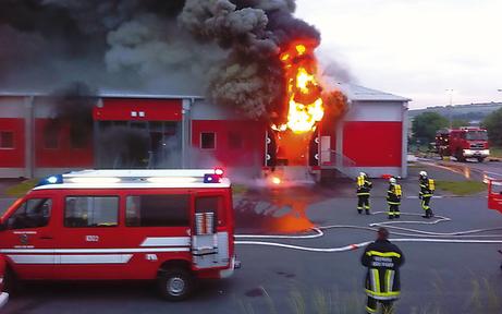Freiwillige Feuerwehr rettete 2.375 Leben