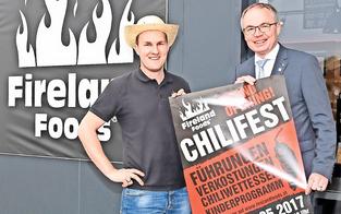 Chili-Fest mit Grillen und Chili-Wettessen