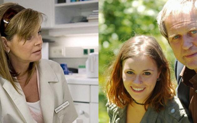 In aller Freundschaft: Maren Gilzer  und Sarah Tkotsch