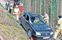 Verbotene Spritztour: Navi führte Lenker auf Holzweg