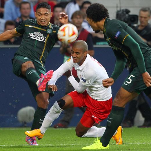 Die Bilder zu Salzburg gegen Celtic Glasgow