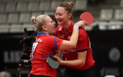 Österreicherin Polcanoca zieht ins Tischtennis-EM-Doppelfinale ein