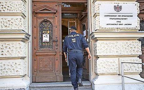 Großverfahren in Graz gegen Staatsgegner